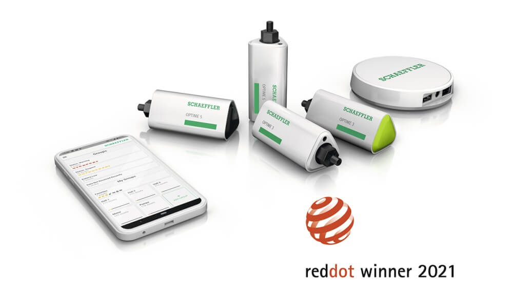 OPTIME, soluția Industry 4.0 dezvoltată de Schaeffler primește premiul Red Dot Design Award