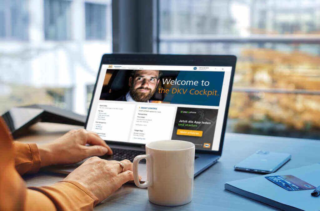 DKV a lansat o nouă versiune a portalului pentru clienți DKV COCKPIT