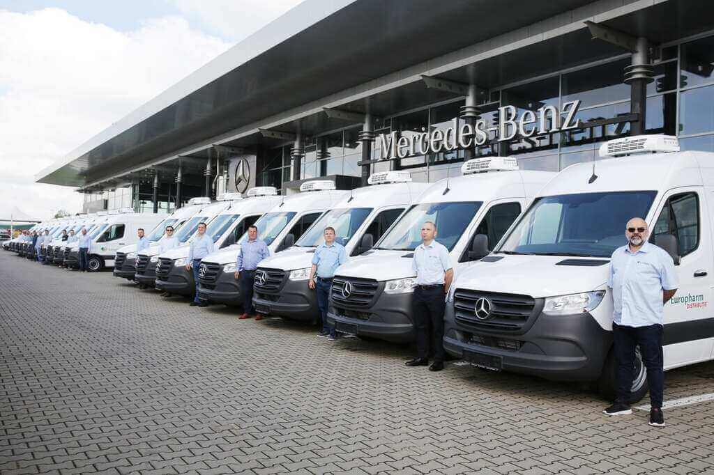 Europharm Distribuție investește 1 milion de euro în extinderea flotei de distribuție