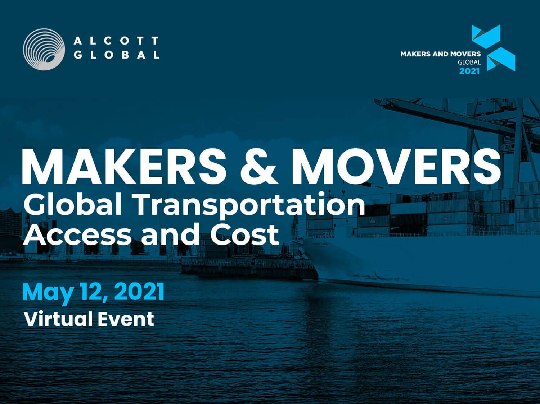 Summit Alcott Global: Provocări ale transportului la nivel global