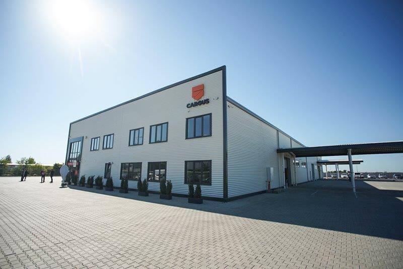 Cargus a investit jumătate de milion de euro într-un nou depozit la Buzău