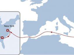 AWE6 este cel mai nou serviciu din portofoliul COSCO SHIPPING Lines care conectează Portul Constanţa și Coasta de Est a Statelor Unite ale Americii via Portul Pireu