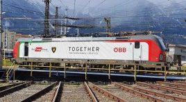 Green Logistics: Lamborghini transportă modelul URUS pe calea ferată