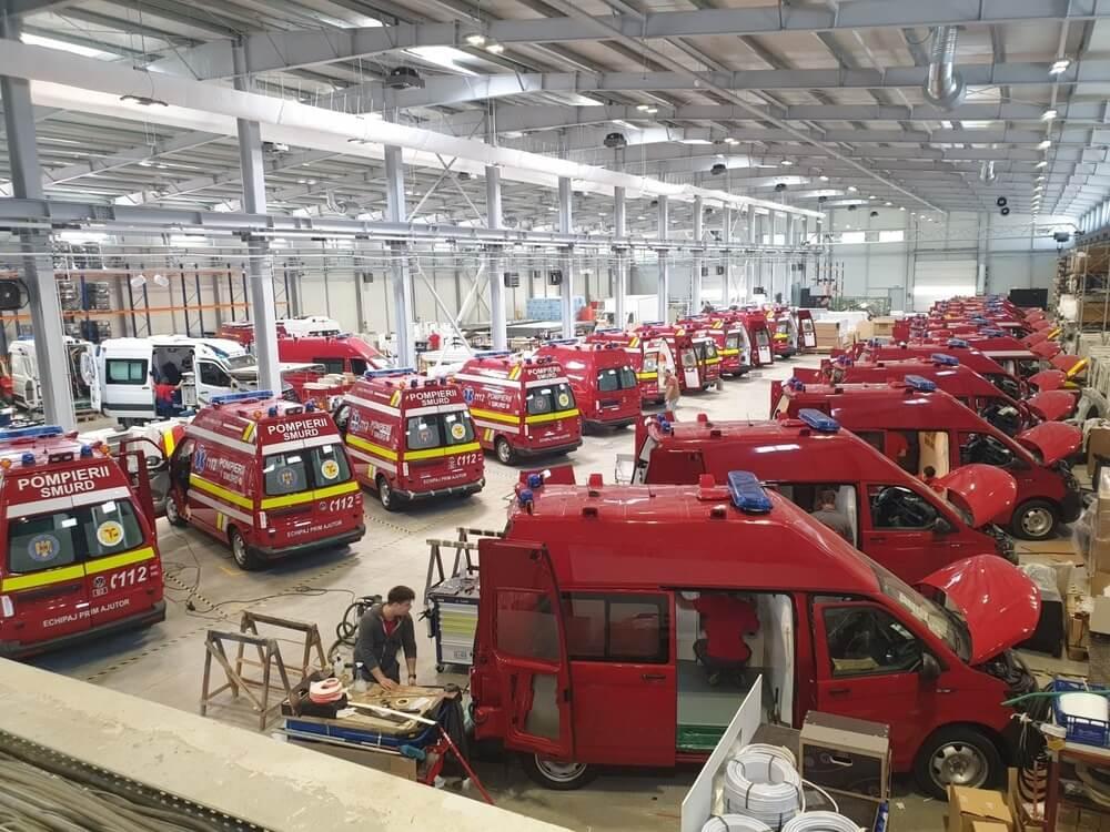 Cel mai mare producător de ambulanțe din Europa de Est investește într-o fabrică la Aiud