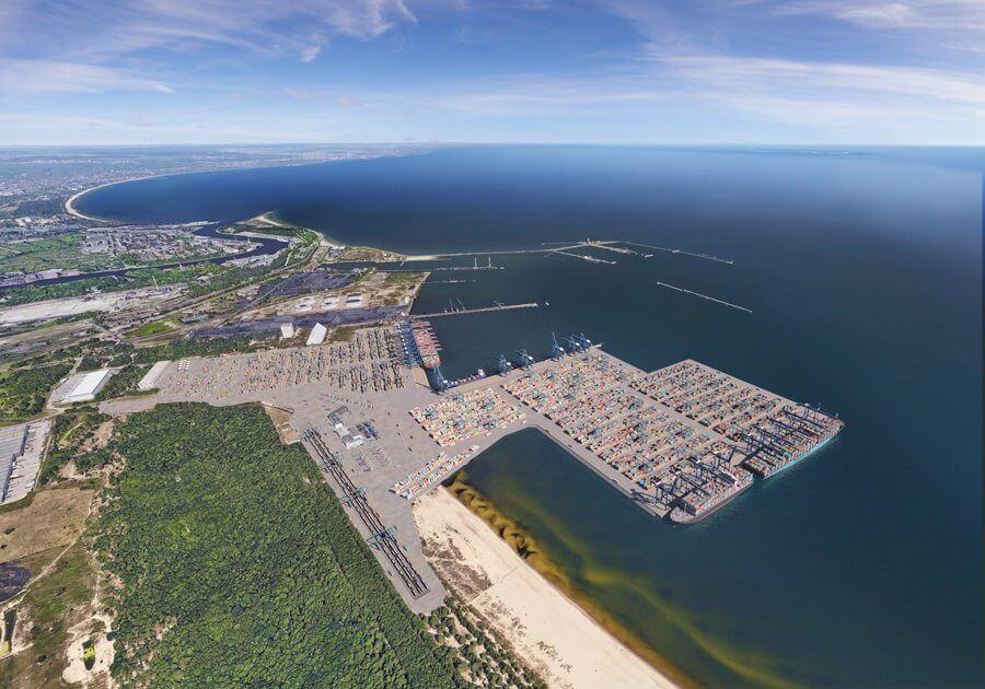 Portul polonez Gdansk se extinde. DCT Gdansk construiește un nou terminal de 1,5 milioane TEU
