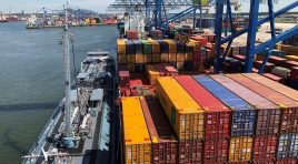 Portul Rotterdam a recuperat volumele pierdute în 2020