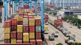 Terminalul de containere Meishan din portul Ningbo se redeschide