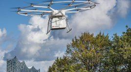 Volocopter și DB Schenker au efectuat primul transport comercial cu drona VoloDrone